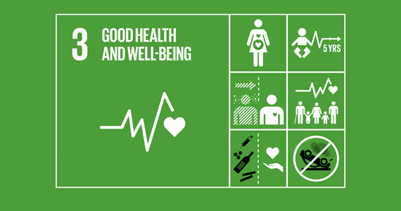 SUSTAINABLE DEVELOPMENT GOAL 3: Ensure healthy lives and promote well-being for all at all ages.